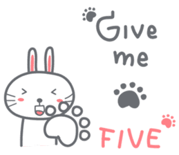Bunny is Happy ver.2 sticker #7041970