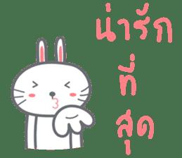 Bunny is Happy ver.2 sticker #7041973