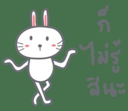 Bunny is Happy ver.2 sticker #7041980