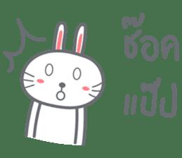 Bunny is Happy ver.2 sticker #7041993