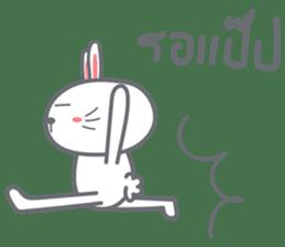 Bunny is Happy ver.2 sticker #7041999