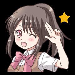 School uniform girl !