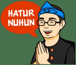 Urang Bandung sticker #7043013