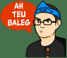 Urang Bandung sticker #7043014