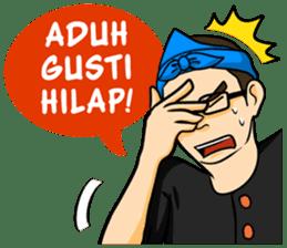 Urang Bandung sticker #7043021