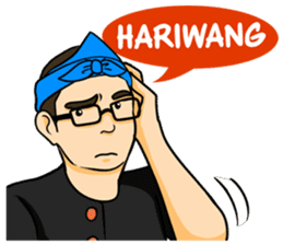 Urang Bandung sticker #7043024