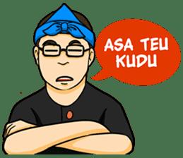 Urang Bandung sticker #7043034