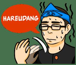 Urang Bandung sticker #7043040