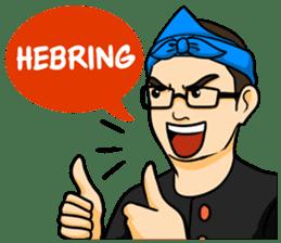 Urang Bandung sticker #7043043