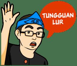 Urang Bandung sticker #7043044