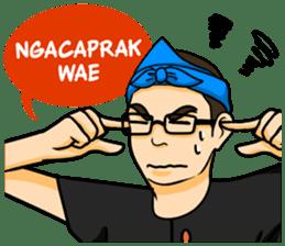 Urang Bandung sticker #7043045