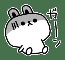Reply stamp of rabbit sticker #7043393