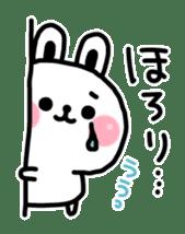 Reply stamp of rabbit sticker #7043399