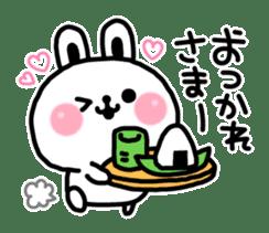 Reply stamp of rabbit sticker #7043401