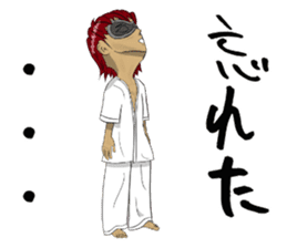 Masked Karate Daily conversation sticker #7046115