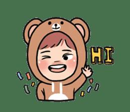pendyo & bearnini sticker #7046248