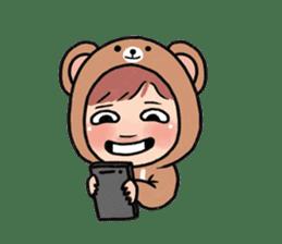 pendyo & bearnini sticker #7046255