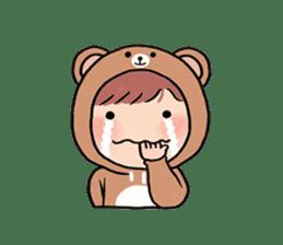 pendyo & bearnini sticker #7046256