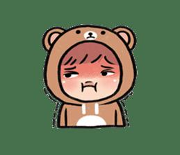 pendyo & bearnini sticker #7046263