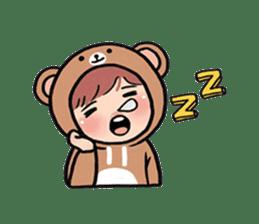pendyo & bearnini sticker #7046264