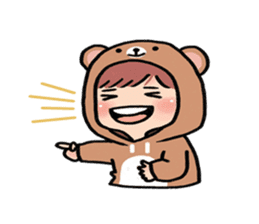 pendyo & bearnini sticker #7046267