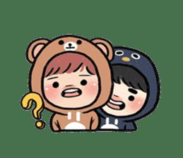 pendyo & bearnini sticker #7046271