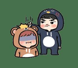 pendyo & bearnini sticker #7046274