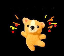 Pretty stuffed toy.  English sticker #7053818