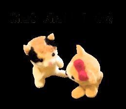 Pretty stuffed toy.  English sticker #7053819