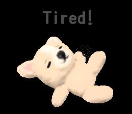Pretty stuffed toy.  English sticker #7053837
