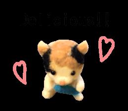 Pretty stuffed toy.  English sticker #7053839