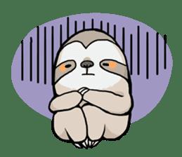 Sloth & Hamster sticker #7055291