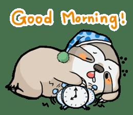 Sloth & Hamster sticker #7055293