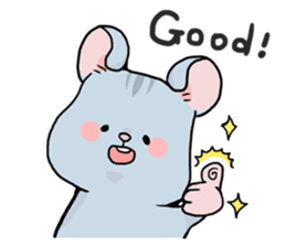 Sloth & Hamster sticker #7055315