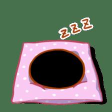 Black cat's Proverbs sticker #7055486