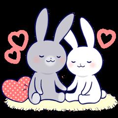Lovey-dovey rabbit 2 (English)