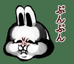 White Rabbit man sticker #7057189