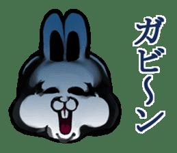 White Rabbit man sticker #7057190