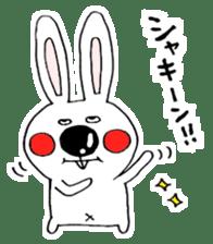Hiroto of rabbit2 sticker #7057370