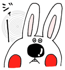 Hiroto of rabbit2 sticker #7057381
