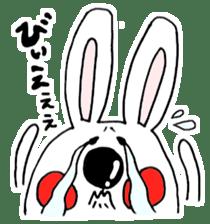 Hiroto of rabbit2 sticker #7057382