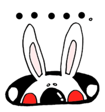 Hiroto of rabbit2 sticker #7057384