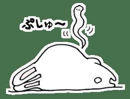 Hiroto of rabbit2 sticker #7057394