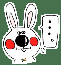 Hiroto of rabbit2 sticker #7057398