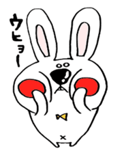 Hiroto of rabbit2 sticker #7057399