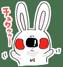 Hiroto of rabbit2 sticker #7057404