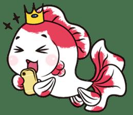 Goof Goldfish II sticker #7058370