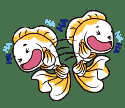Goof Goldfish II sticker #7058406