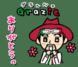 enjoy Italian! with Sasaki carpaccio! sticker #7062332