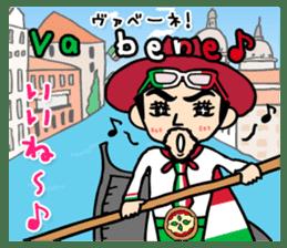 enjoy Italian! with Sasaki carpaccio! sticker #7062336